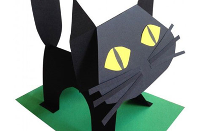 Make your own paper cat