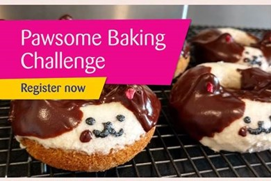 Enter our Pawsome Baking Challenge!